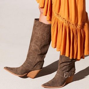 Free People x Jeffrey Campbell Reed Slouch Boot